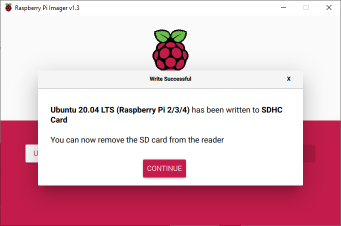 Ubuntu 20.04: How to install Ubuntu 20.04 server on a Raspberry Pi4