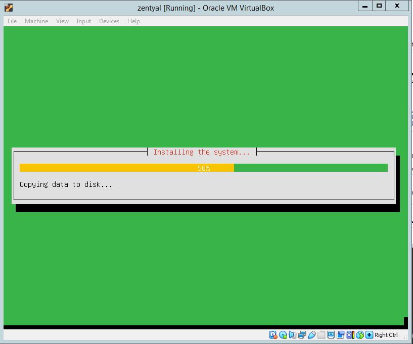 Zentyal Server 6.2: Install Zentyal Server 6.2 Development Edition in a virtual box.