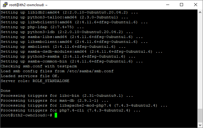 Installing Owncloud on Ubuntu 20.04 - PHP install more pre-requisite modules