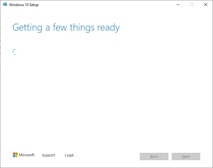 Create a Windows 10 ISO - double click