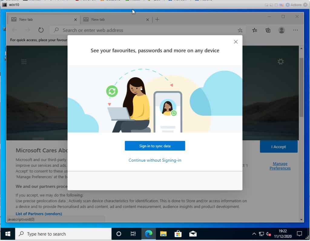 Create a Windows 10 ISO - don;t sync