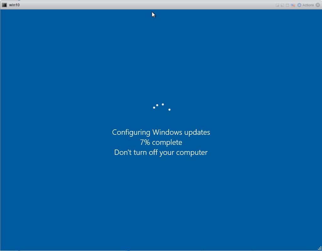 Windows 10 updates - Installing updates