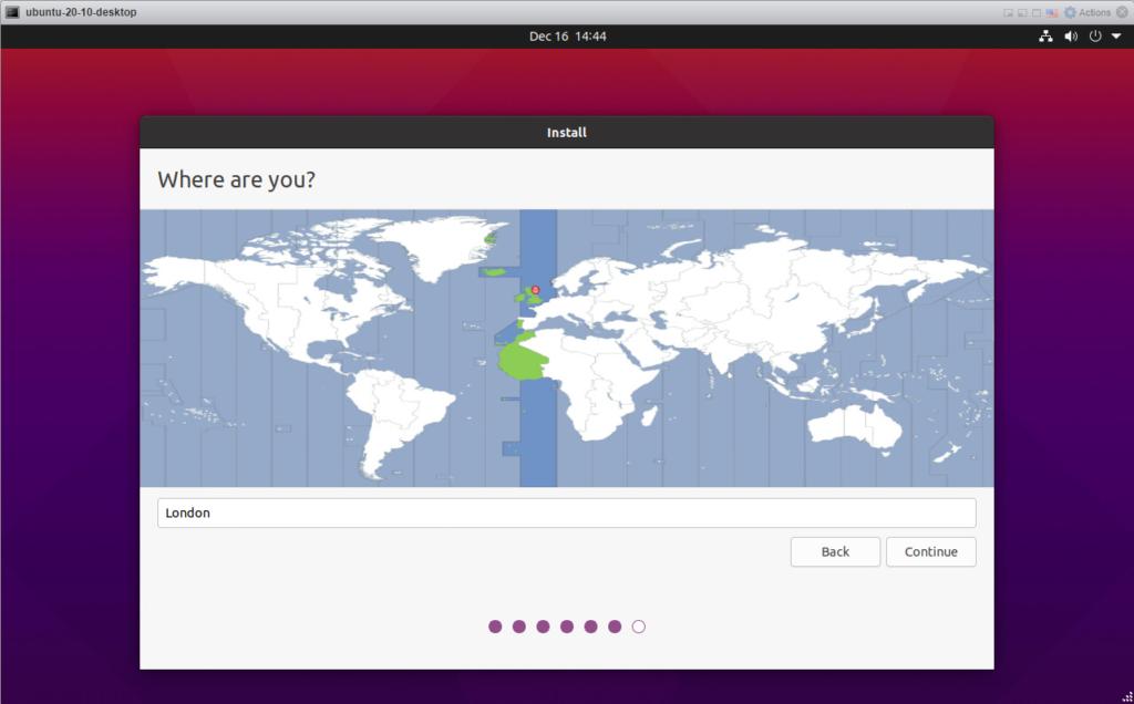 Ubuntu 20.10 - Where are you?