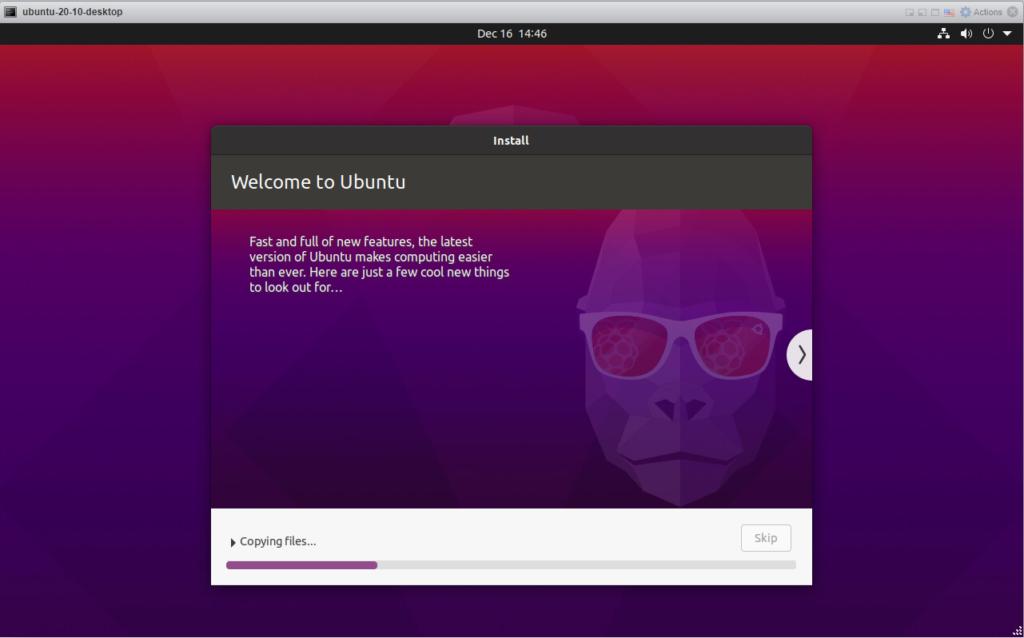 Ubuntu 20.10 - Installing