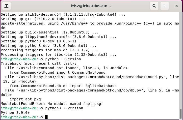 Ubuntu 20.10: Installing Python 3.8 on Ubuntu 20.10 Desktop