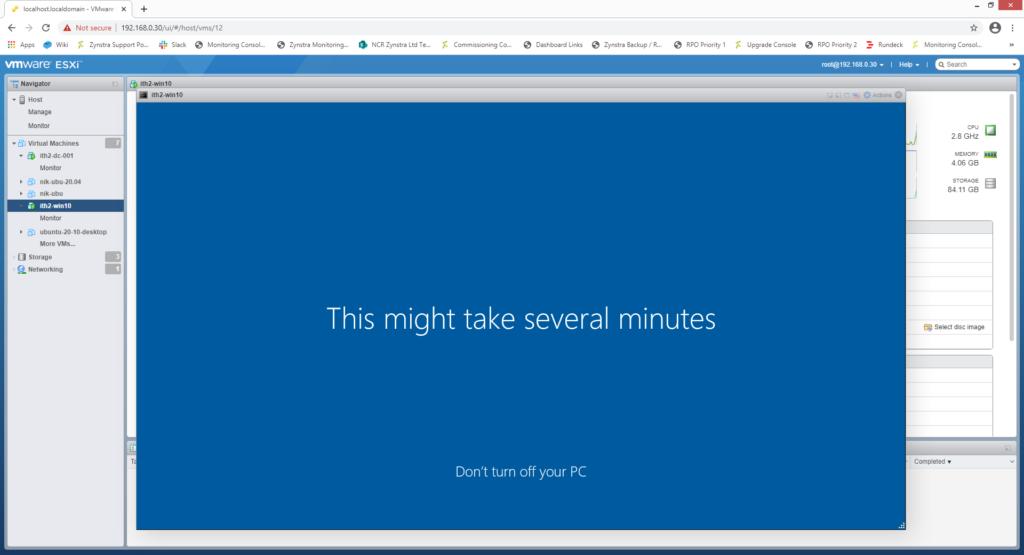 Zentyal: Add a Windows 10 Pro PC to a Zentyal Domain