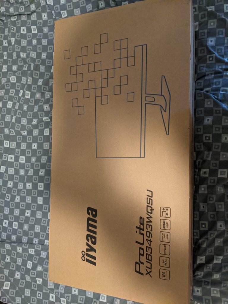 "Iiyama ProLite XUB3493WQSU 34"" Ultra Wide monitor arrived"