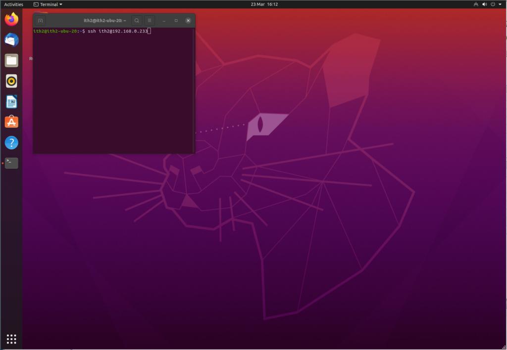 Ubuntu 20.04: Enable SSH on Ubuntu 20.04.