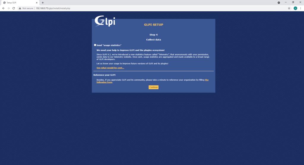 Installing GLPI on Ubuntu 20.04