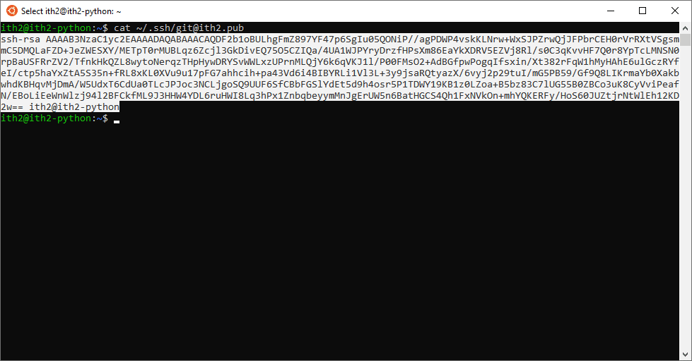 Configuring Git to sync with GitHub using ssh on Ubuntu 20.04